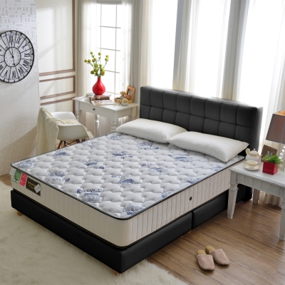 Ally愛麗-皇冠天絲棉-抗菌硬式獨立筒床-單人3.5尺