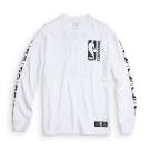 CONVERSE X NBA男長袖上衣10006630A02-白