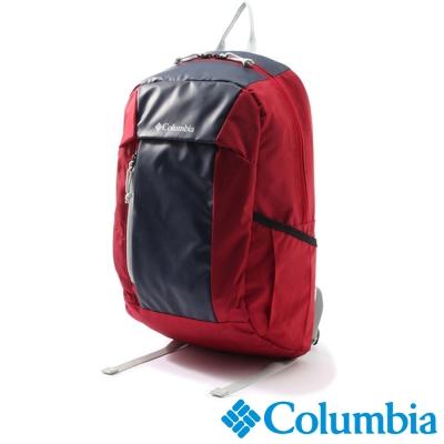【Columbia哥倫比亞】日版20L雙肩後背包-紅色 UPU81280RD