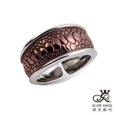 原生飾代SilverKings-魅力印記-316L白鋼戒指