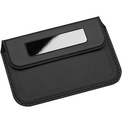 REFLECTS 業務軟性名片盒(黑)