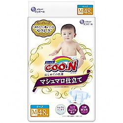GOO.N 日本大王 棉花糖特仕紙尿褲 境內版 M 48片