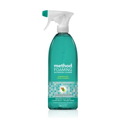 Method 美則浴廁泡沫清潔劑-尤加利薄荷 828ml