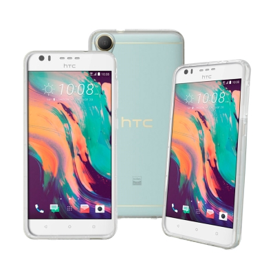 LUCCIDA HTC Desire 10 Lifestyle 超薄透明軟式保護套