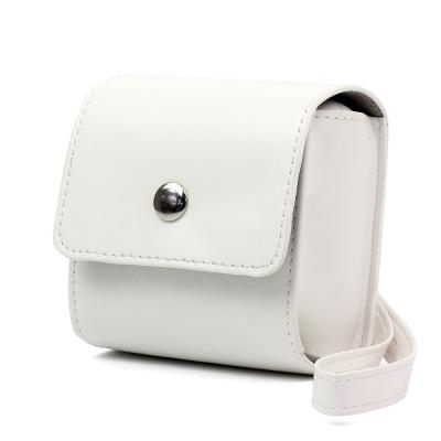 PAPERANG 口袋列印小精靈喵喵機 專屬手拿包-白色
