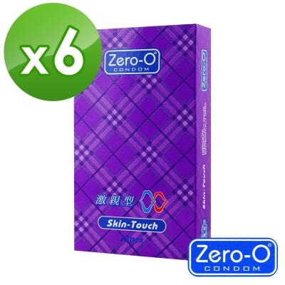 ZERO-O 零零激親型保險套 12入裝x6盒