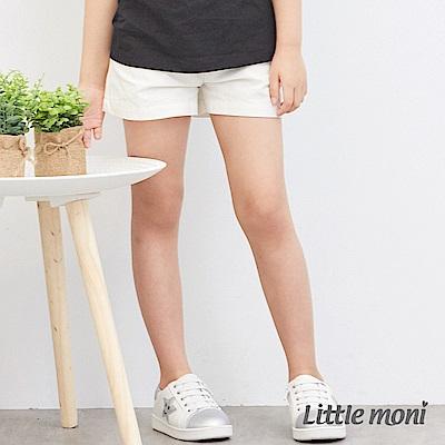 Little moni 休閒百搭素面短褲 (3色可選)