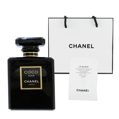 CHANEL香奈兒 黑色COCO香水100ml  贈提袋及美妝小物
