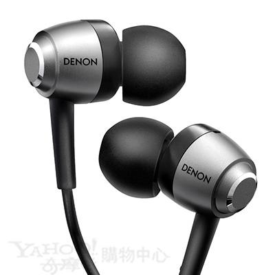 天龍-DENON-AH-C560-銀色-耳道耳機