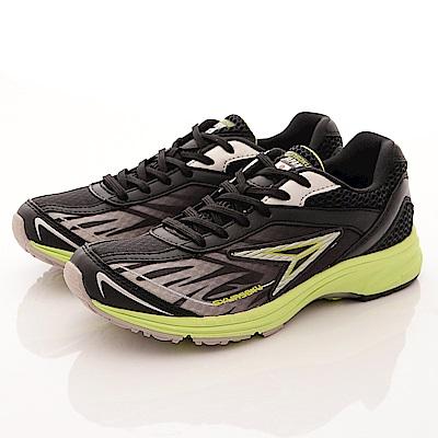 日本瞬足羽量競速童鞋 速跑運動款 0061B黑(大童段)T2