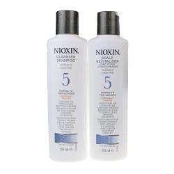 NIOXIN 耐奧森(儷康絲) 組合5號潔髮乳+甦活乳300ML 公司貨