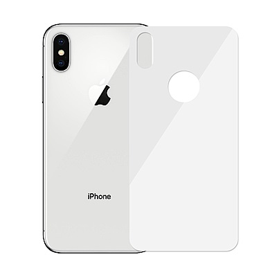 【SHOWHAN】iPhone X  5D滿版 背貼 鋼化玻璃保護貼