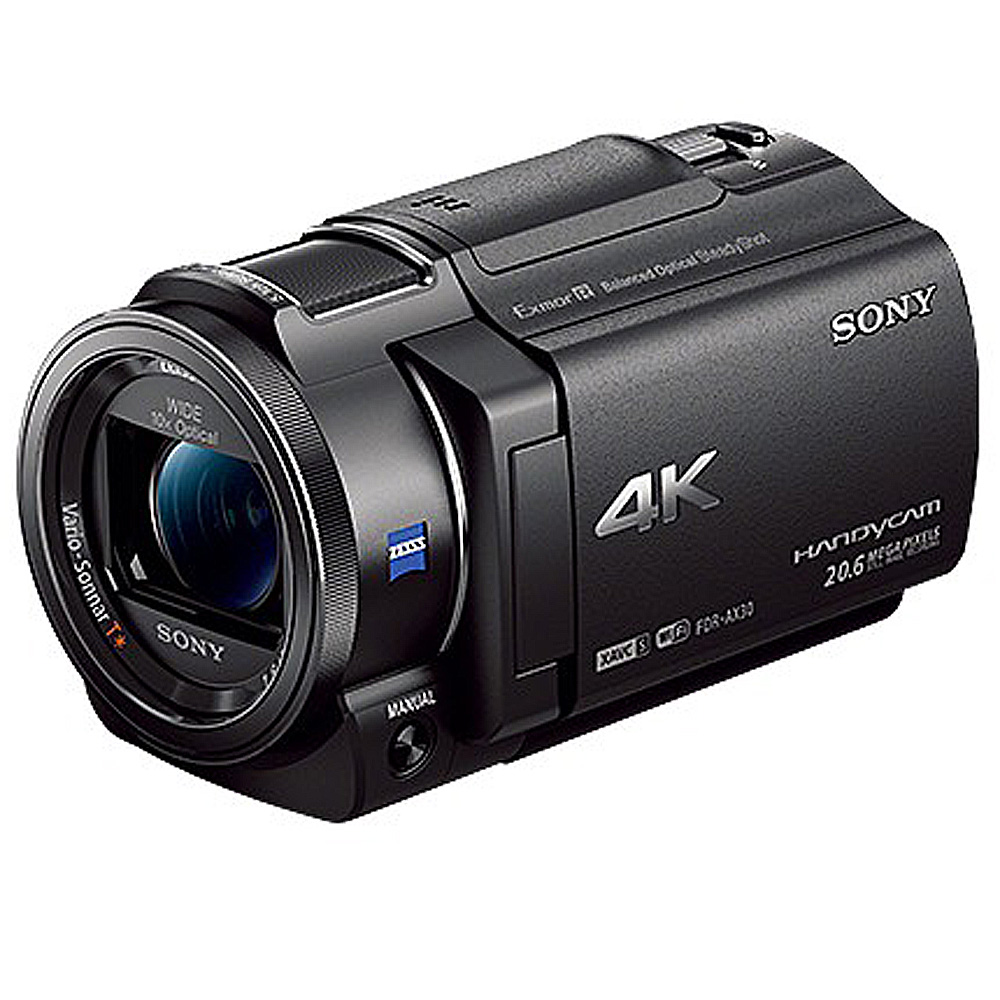 SONY 4K數位攝影機FDR-AX30(公司貨)
