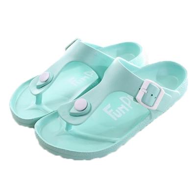 輕量休閒夾腳拖鞋 藍綠 sd0188 魔法Baby