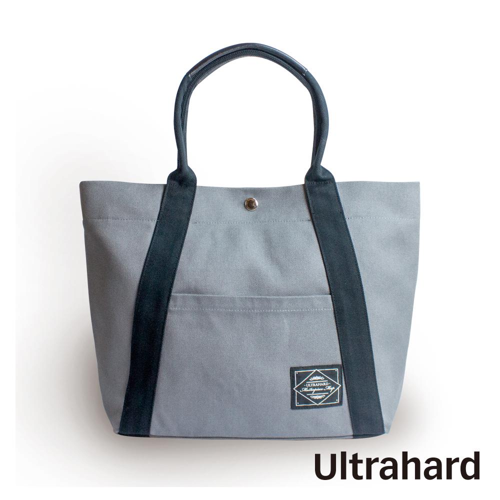 Ultrahard 兩用托特包-City Impression Series 經典黑灰