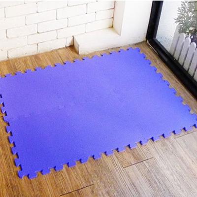 【新生活家】抗菌地墊32x32x1cm 夢幻紫6入