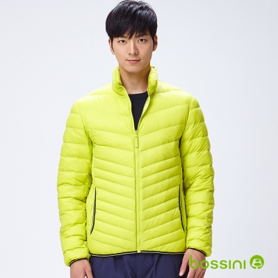 bossini男裝-高效熱能輕羽絨外套04亮綠