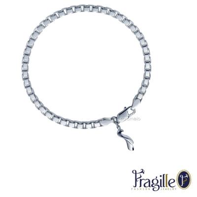 彩糖鑽工坊 Fragille 舞動系列 純銀手鍊