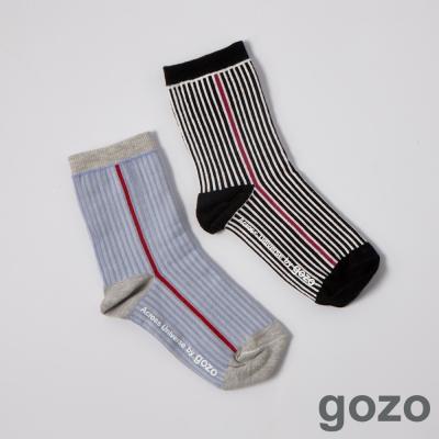 gozo線條主義者跳色短襪 (二色)