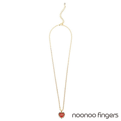 Noonoo-Fingers-Heart-Necklace-愛心-項鍊