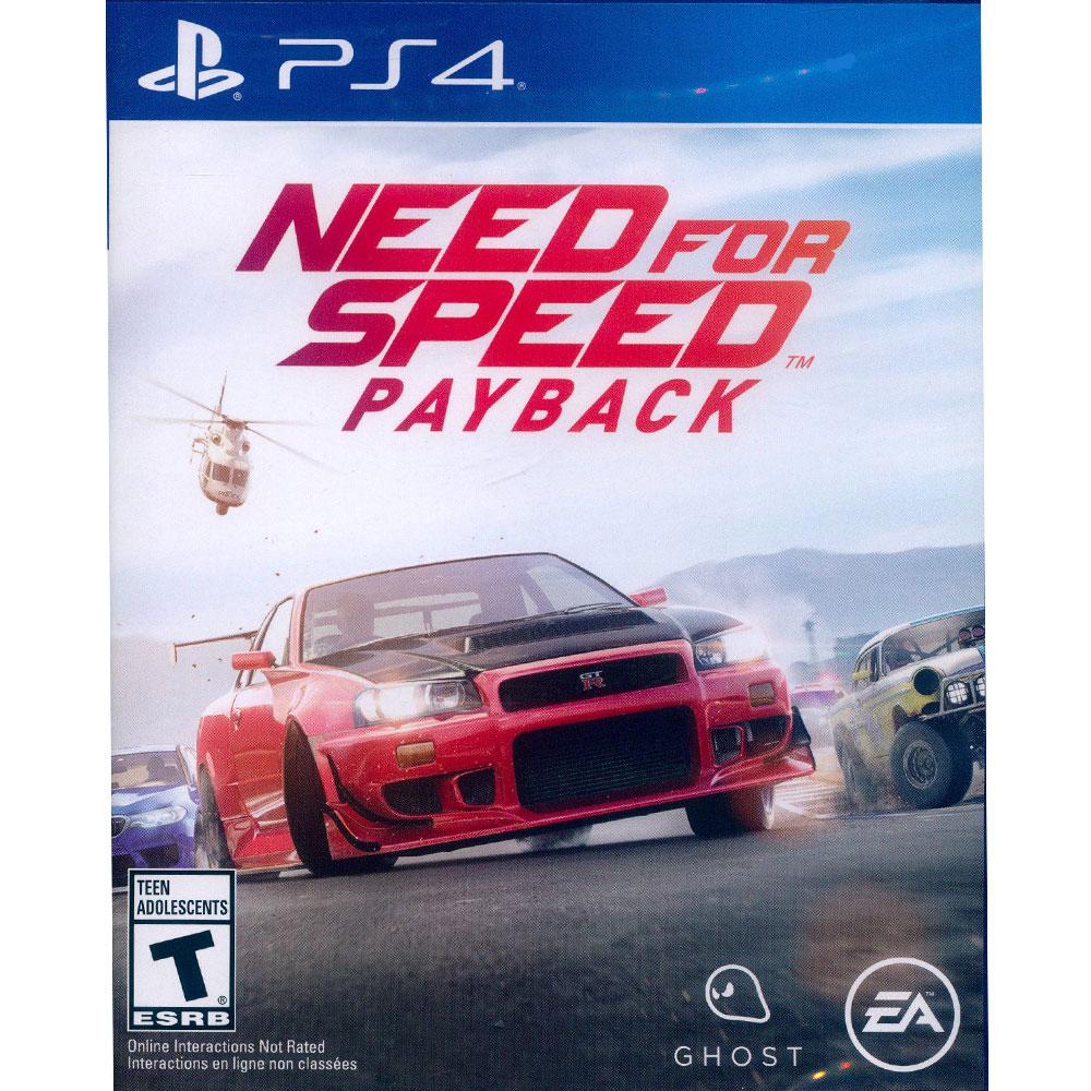 極速快感:血債血償 Need for Speed: Payback -PS4中英文美版