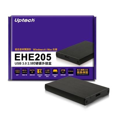 Uptech EHE 205  USB 3 . 0   2 . 5 吋硬碟外接盒