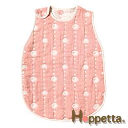 Hoppetta 六層紗可愛動物防踢背心(幼童粉)