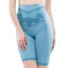 思薇爾 挺享塑系列64-88中機能高腰長筒束褲(北極藍)
