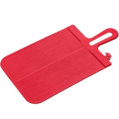 KOZIOL 蘑菇輕鬆放砧板(紅)