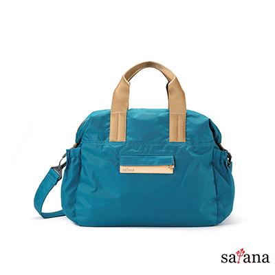 satana - MAMA 側背手提包 - 水鴨綠