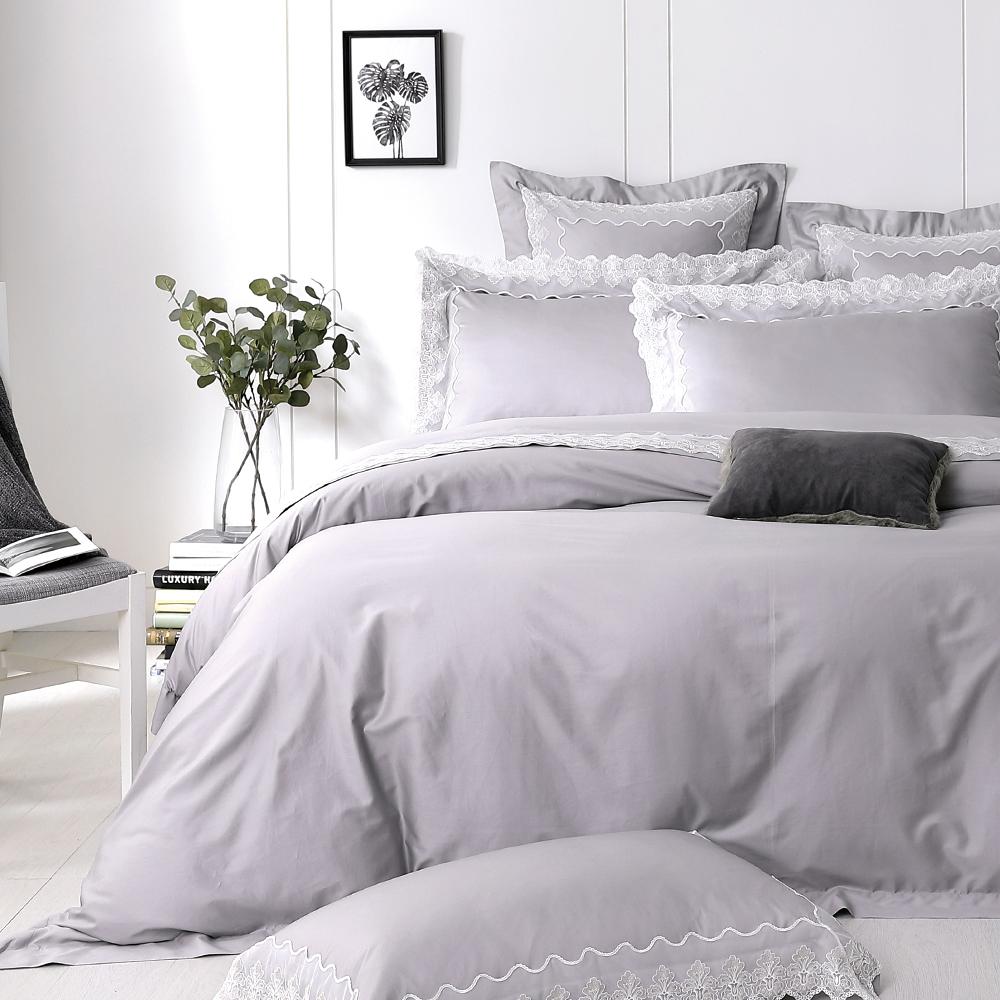 Cozy inn 荷斯緹雅 雙人四件組 300織精梳棉薄被套床包組