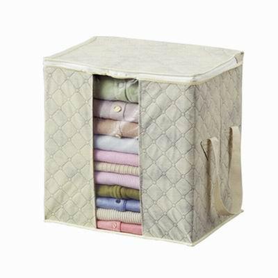 iSFun 竹炭纖維 衣物棉被收納袋 二色可選