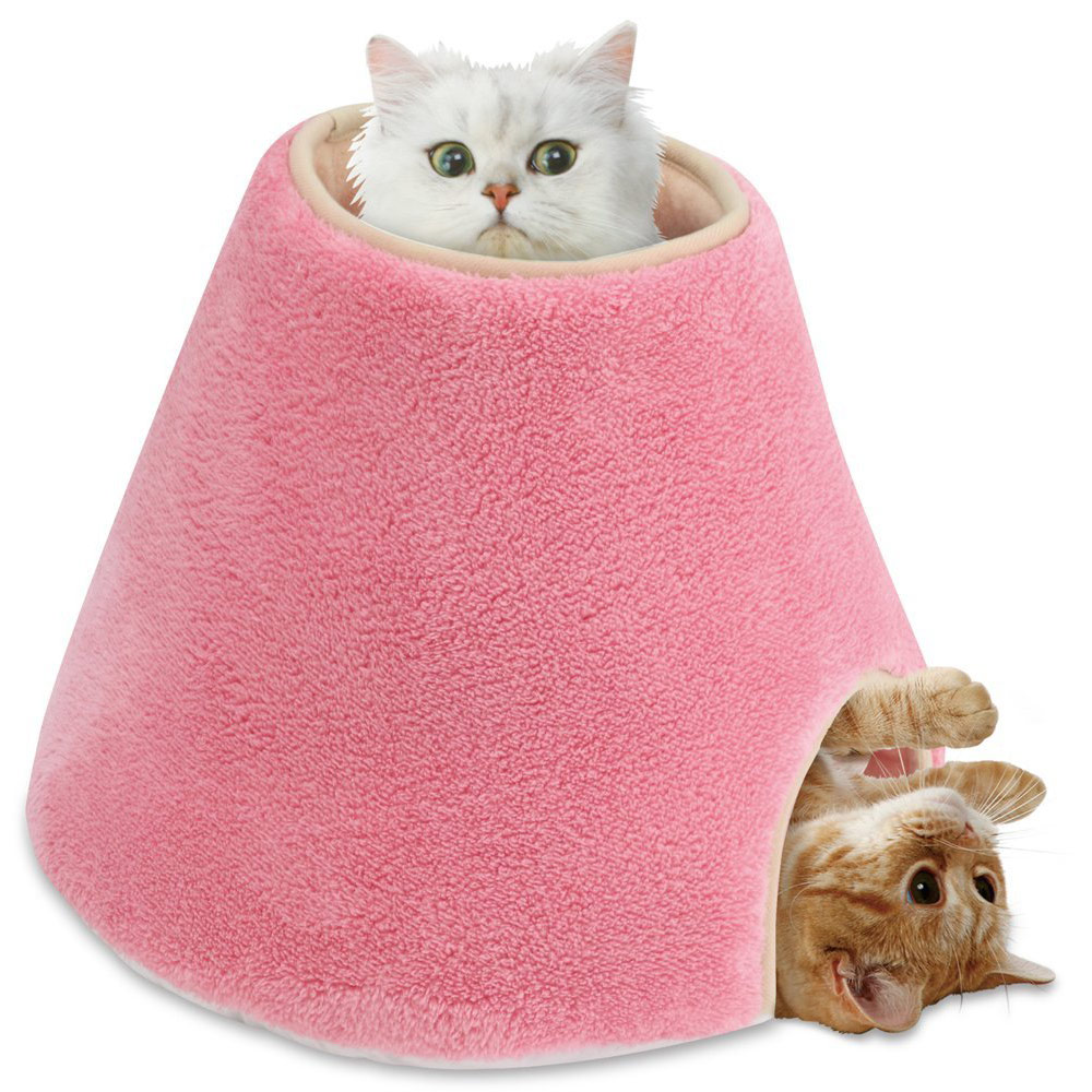 日本Marukan 貓咪遊戲屋-圓柱型(CT-250) 貓窩 X 1入