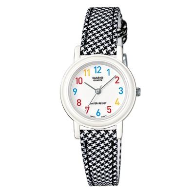 CASIO-復古新美學格鳥紋氣質指針腕錶(LQ-139LB-1B)-黑26mm