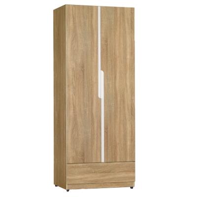 品家居-蘿莉2-5尺雙開門衣櫃-75x58x196