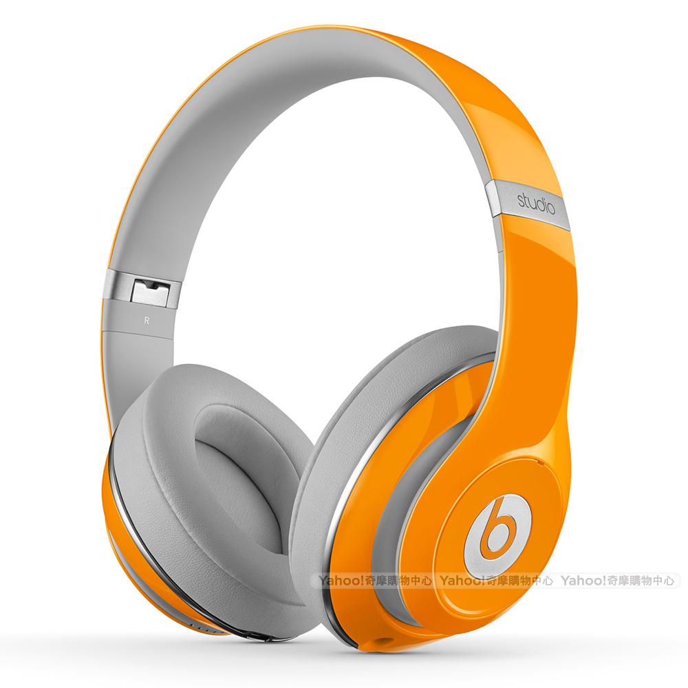 BEATS 限量橘 主動式降噪頭戴耳機 New Beats Studio