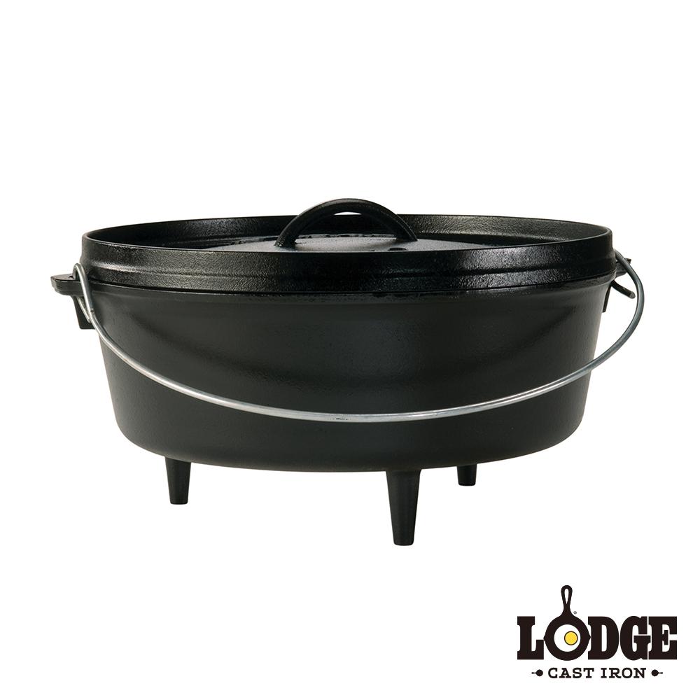 Lodge 鑄鐵戶外荷蘭鍋 6Q