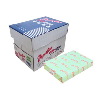 PAPERLINE淺綠色190彩色影印紙A4-70g/㎡-500張裝(10包/2箱)