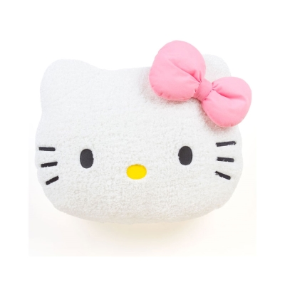 Sanrio-HELLO-KITTY大臉造型超舒柔