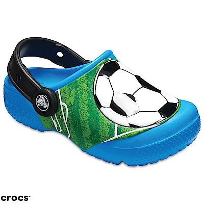 Crocs 卡駱馳 (童鞋) 足球小克駱格 205401-456