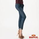 BRAPPERS 女款 女用天絲棉燈籠八分褲-藍