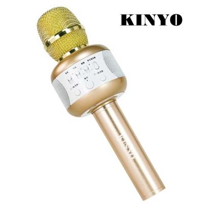 KINYO 雙立體聲喇叭行動K歌麥克風(BDM-500)