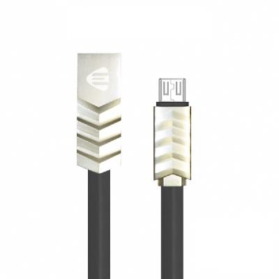 JELLICO Micro-USB波浪系列充電線/JEC-LC15-BKM  -1M