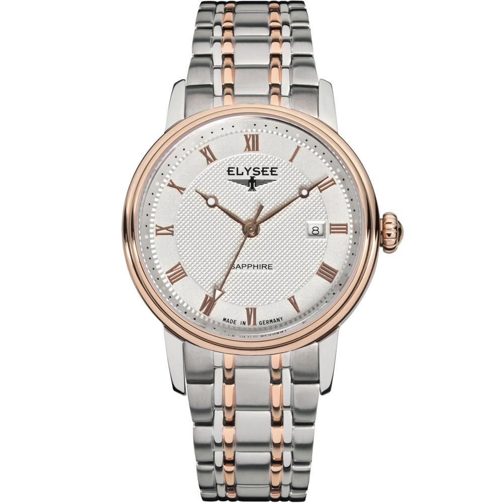 ELYSEE Monumentum Lady 典雅時尚經典腕錶-雙色/31mm