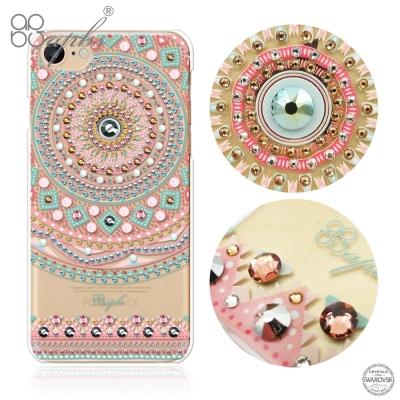 apbs iPhone8/7 4.7吋施華洛世奇彩鑽手機殼-滿版圖騰