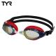 美國TYR-成人用競速電鍍泳鏡-Powerflow