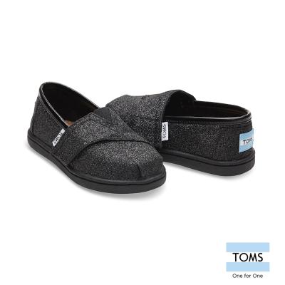 TOMS 經典亮粉懶人鞋-幼童款