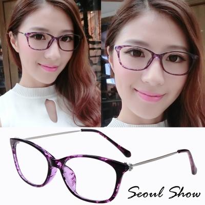 Seoul-Show-情靡紫-平光眼鏡-9312大理石紫