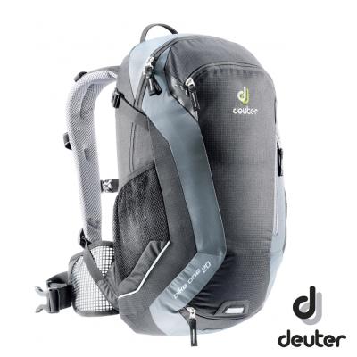 《Deuter》32082 自行車背包 20L 黑/灰