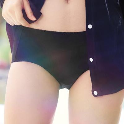 推EASY SHOP-開運惹愛 中腰平口褲(性感黑)